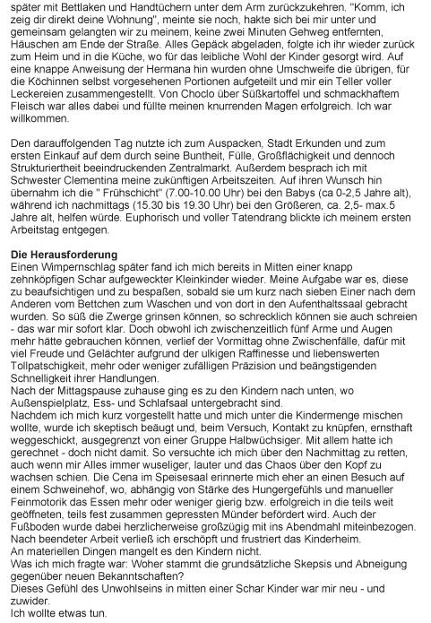 Philia Basche - Bericht-2